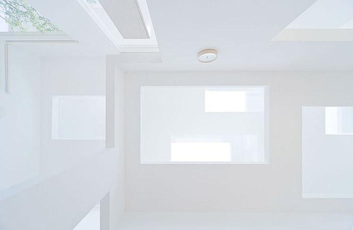 House N - Thiết kế nhà ở hiện đại có ba lớp vỏ lồng vào nhau 6