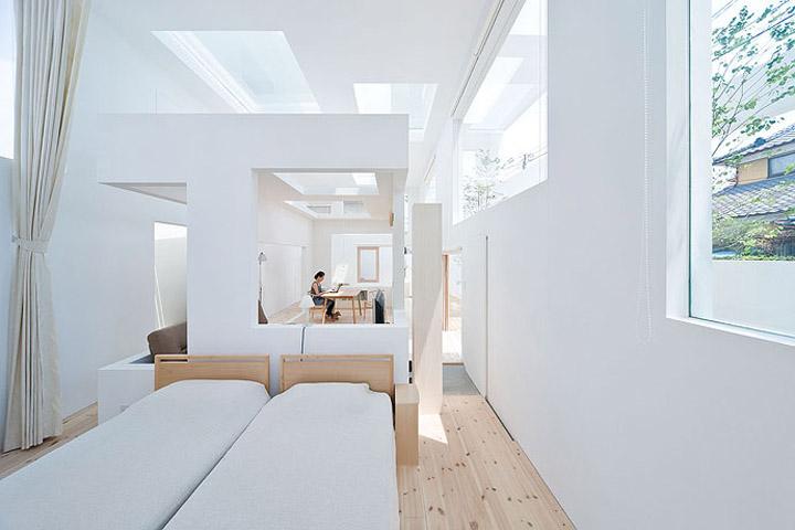 House N - Thiết kế nhà ở hiện đại có ba lớp vỏ lồng vào nhau 7