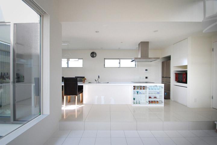 House in Hino - Thiết kế nhà phố tối giản bên bờ sông xanh mát 5