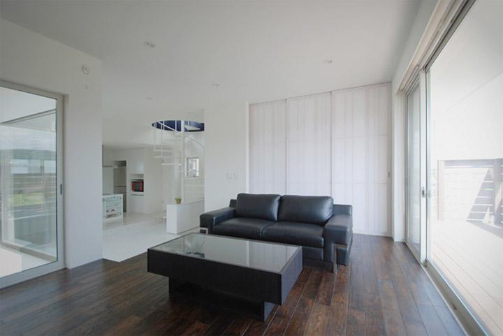 House in Hino - Thiết kế nhà phố tối giản bên bờ sông xanh mát 3