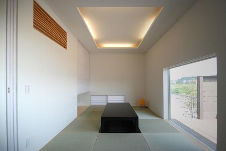House in Hino - Thiết kế nhà phố tối giản bên bờ sông xanh mát 8