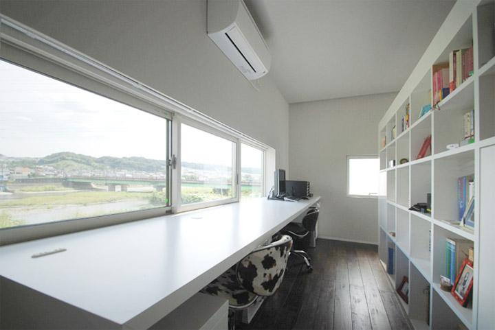 House in Hino - Thiết kế nhà phố tối giản bên bờ sông xanh mát 11