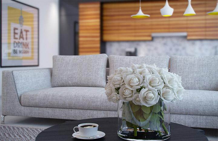 Sự đa năng của vật liệu gỗ sáng màu trong thiết kế nội thất 8