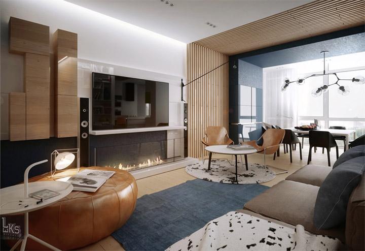 Sự đa năng của vật liệu gỗ sáng màu trong thiết kế nội thất 12
