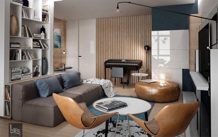 Sự đa năng của vật liệu gỗ sáng màu trong thiết kế nội thất 13