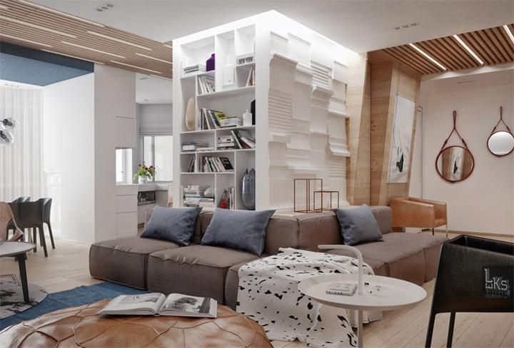 Sự đa năng của vật liệu gỗ sáng màu trong thiết kế nội thất 14
