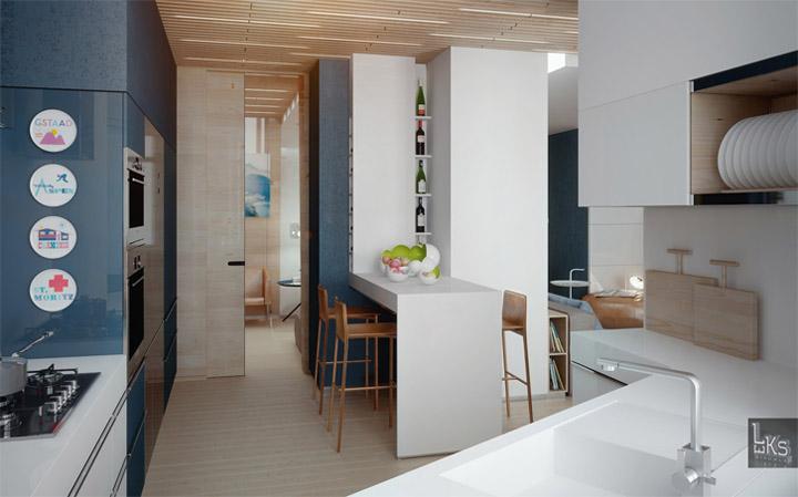 Sự đa năng của vật liệu gỗ sáng màu trong thiết kế nội thất 15