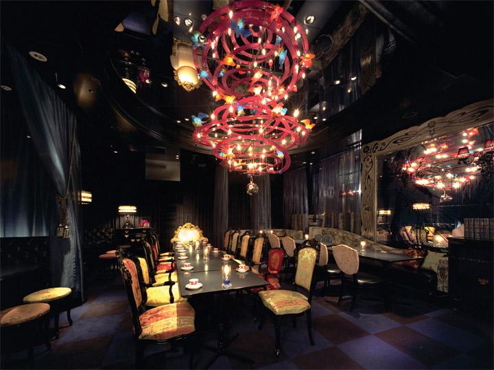 Xứ sở thần tiên hiện ra trong thiết kế nội thất nhà hàng