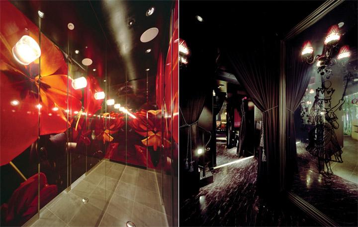 Ánh sáng vừa đủ, không gian huyền ảo chính là concept chính cho phong cách thiết kế nhà hàng này
