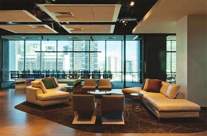 Nét sang trọng trong thiết kế nội thất văn phòng công ty VIP 3