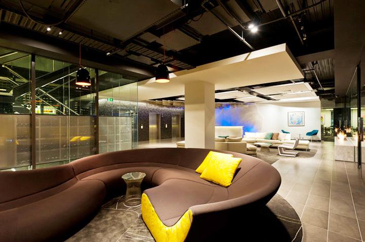 Nét sang trọng trong thiết kế nội thất văn phòng công ty VIP 8