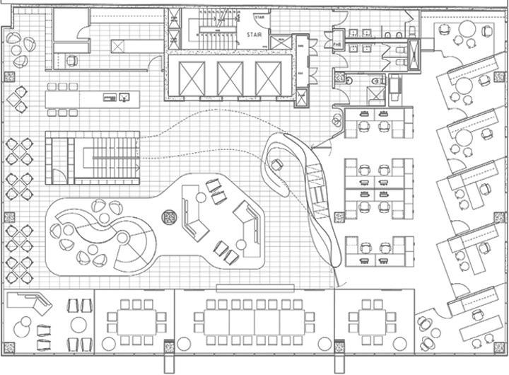 Nét sang trọng trong thiết kế nội thất văn phòng công ty VIP 13