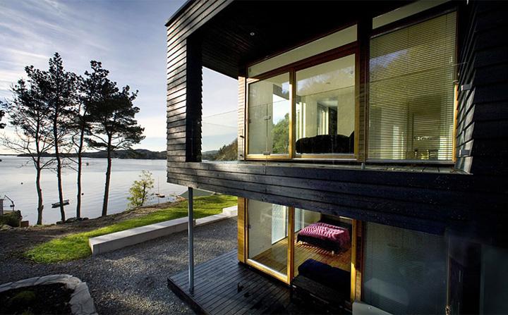 Villa Storingavika - Mẫu biệt thự hiện đại bên bờ biển Na Uy 8