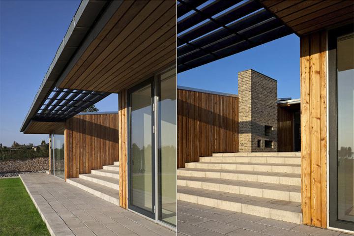 Villa Petersen - Mẫu nhà vườn đẹp và hiện đại ốp gỗ thông 10