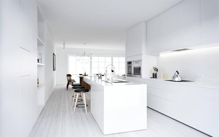 Mẫu thiết kế căn hộ đẹp theo phong cách Scandinavian tối giản 6