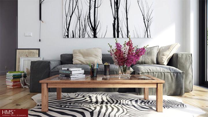 Mẫu thiết kế căn hộ đẹp theo phong cách Scandinavian tối giản 8