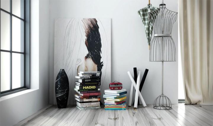 Mẫu thiết kế căn hộ đẹp theo phong cách Scandinavian tối giản 13