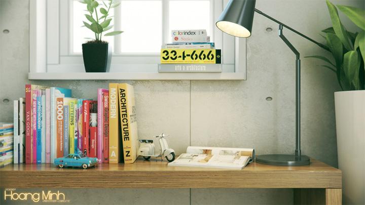 Mẫu thiết kế căn hộ đẹp theo phong cách Scandinavian tối giản 22