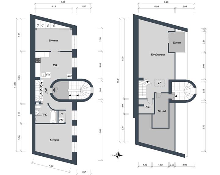 Mẫu thiết kế nhà phố đẹp có ban công theo xu hướng hiện đại 14