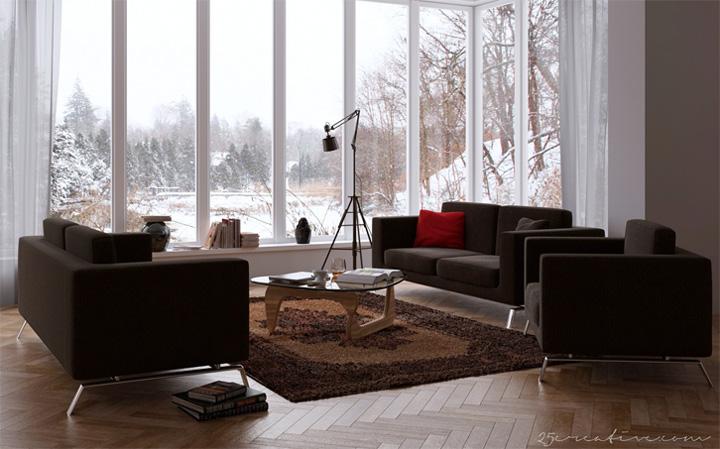 Những mẫu thiết kế phòng khách đẹp mang lại đầy cảm hứng 7