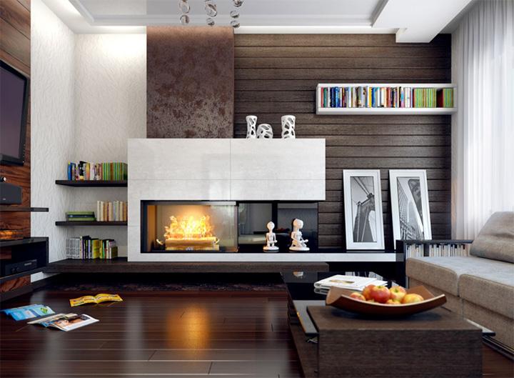 Những mẫu thiết kế phòng khách đẹp mang lại đầy cảm hứng 4