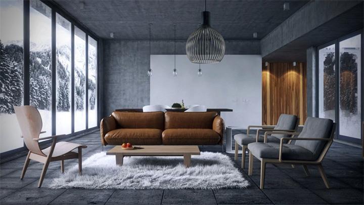 Những mẫu thiết kế phòng khách đẹp mang lại đầy cảm hứng 3
