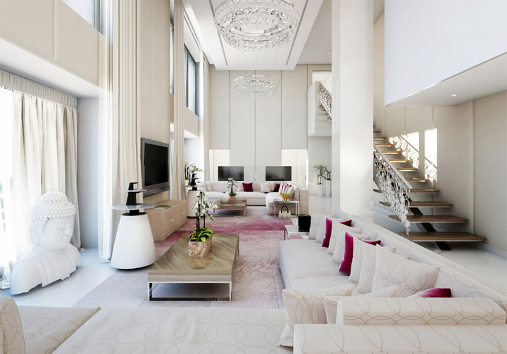 Những mẫu thiết kế phòng khách đẹp mang lại đầy cảm hứng 1