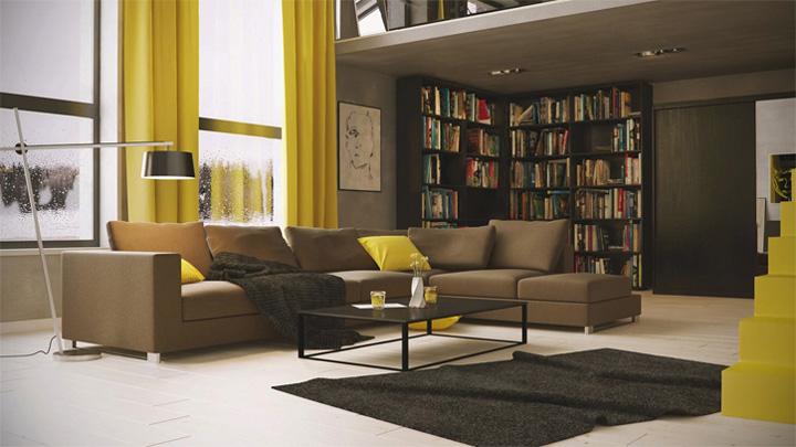Những mẫu thiết kế phòng khách đẹp mang lại đầy cảm hứng 5