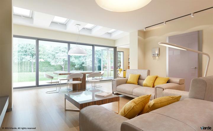 Những mẫu thiết kế phòng khách đẹp mang lại đầy cảm hứng 6