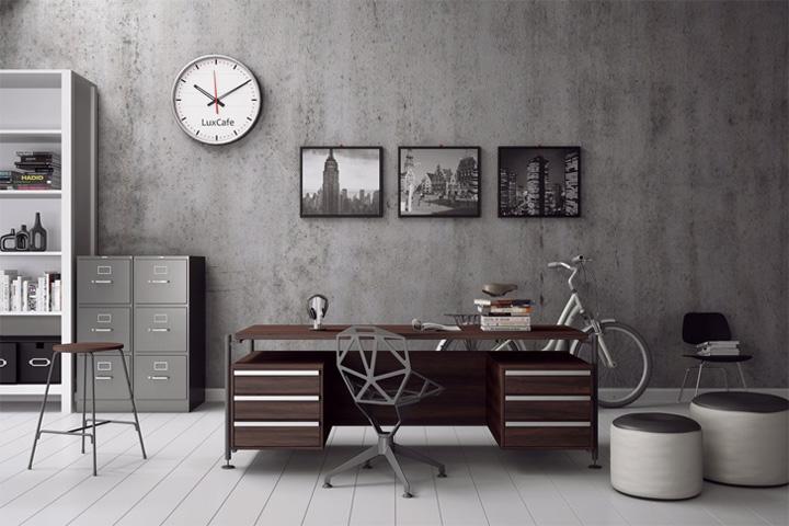 Mẫu thiết kế văn phòng tại nhà giúp tăng hiệu quả làm việc 2