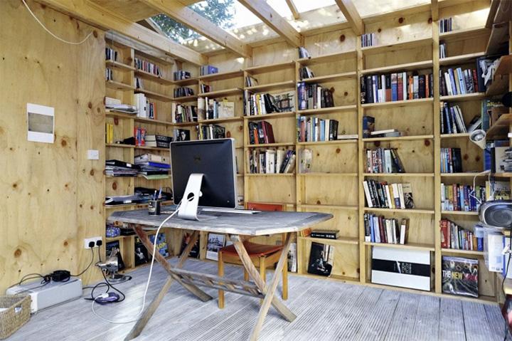 Mẫu thiết kế văn phòng tại nhà giúp tăng hiệu quả làm việc 11