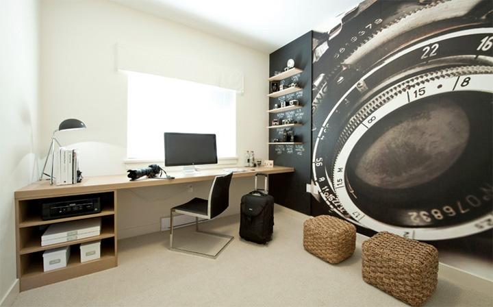 Mẫu thiết kế văn phòng tại nhà giúp tăng hiệu quả làm việc 1