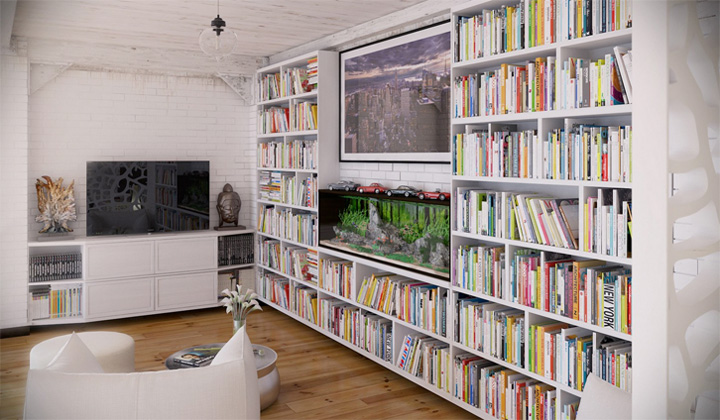 Thiết kế nội thất căn hộ Industrial với những đặc tính khác biệt 5