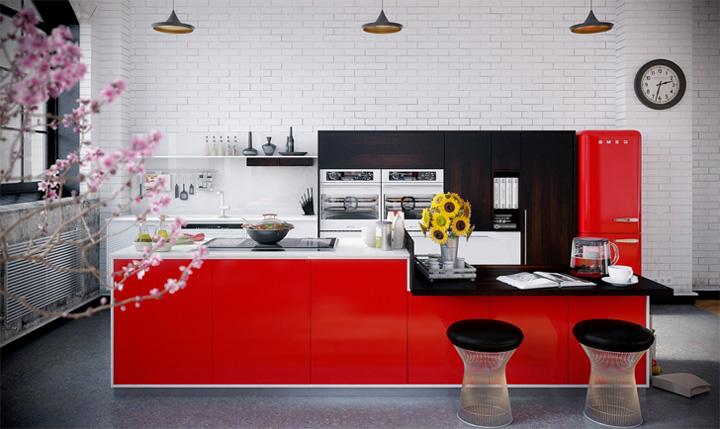 Thiết kế nội thất căn hộ Industrial với những đặc tính khác biệt 7