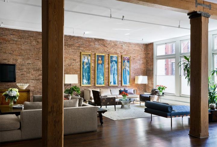 c m h ng thi t k n i th t c n h v i t ng g ch th m c. Black Bedroom Furniture Sets. Home Design Ideas