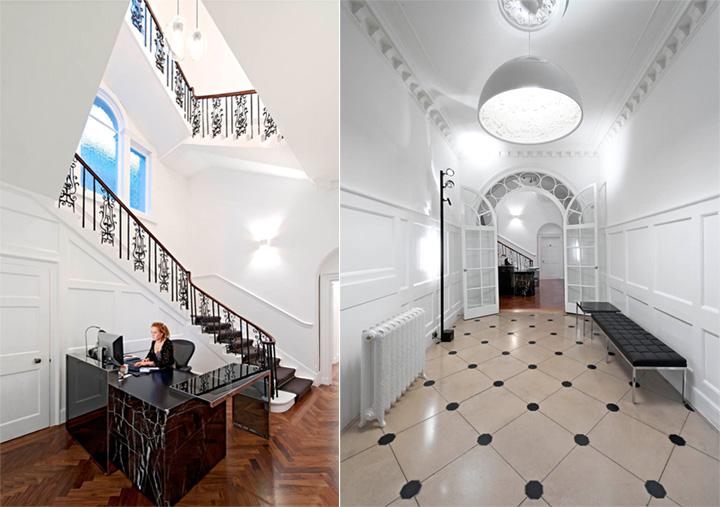 Thiết kế văn phòng cổ điển của một công ty vận tải ở London 6