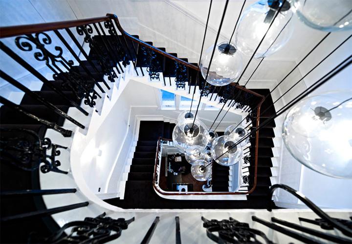 Thiết kế văn phòng cổ điển của một công ty vận tải ở London 8