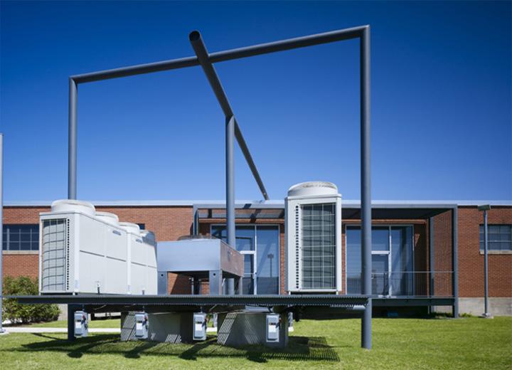 Thiết kế văn phòng công ty về thiết bị điều hòa R.B. Akins 2