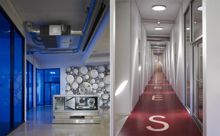 Thiết kế văn phòng công ty về thiết bị điều hòa R.B. Akins 7