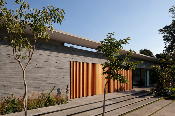 Float House - Mẫu thiết kế biệt thự hiện đại với không gian mở 1