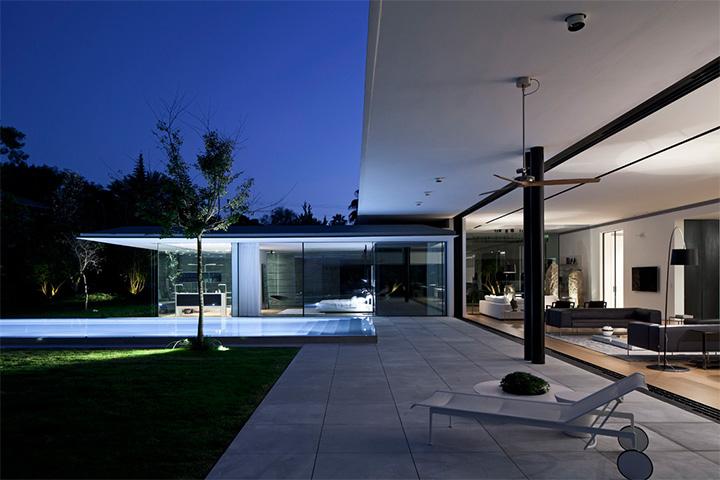 Float House - Mẫu thiết kế biệt thự hiện đại với không gian mở 14