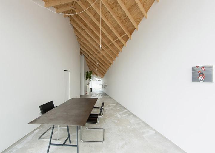 Mẫu thiết kế căn hộ kết hợp studio mỹ thuật Alphaville 12