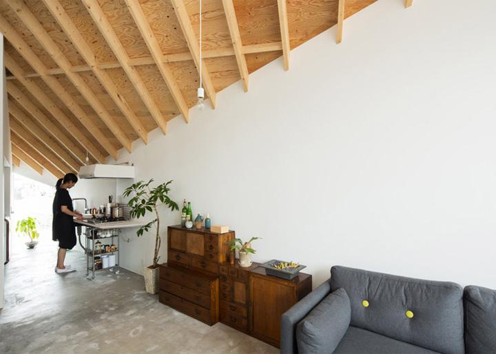 Mẫu thiết kế căn hộ kết hợp studio mỹ thuật Alphaville 13