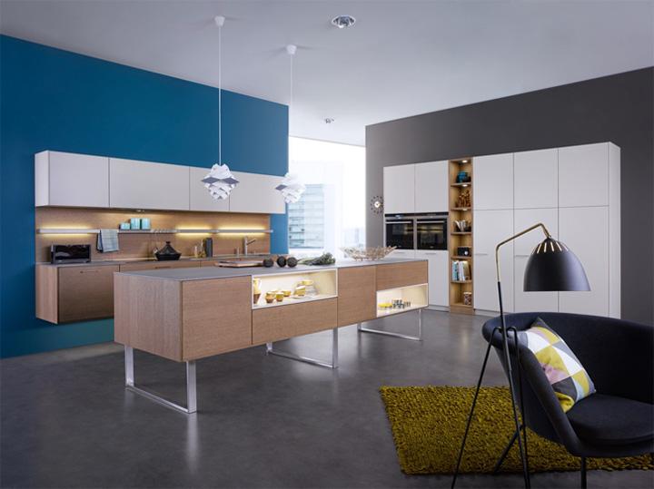 Mẫu thiết kế tủ bếp đẹp theo phong cách mới đầy tính sáng tạo 2