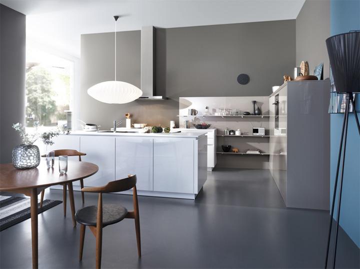 Mẫu thiết kế tủ bếp đẹp theo phong cách mới đầy tính sáng tạo 3
