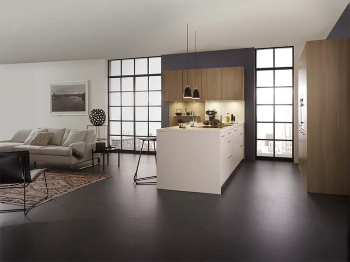 Mẫu thiết kế tủ bếp đẹp theo phong cách mới đầy tính sáng tạo 4