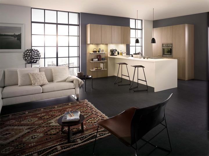 Mẫu thiết kế tủ bếp đẹp theo phong cách mới đầy tính sáng tạo 6