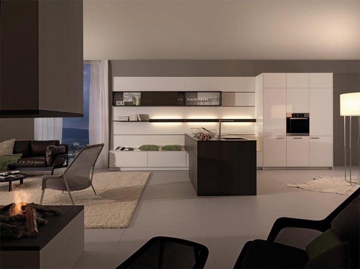 Mẫu thiết kế tủ bếp đẹp theo phong cách mới đầy tính sáng tạo 7