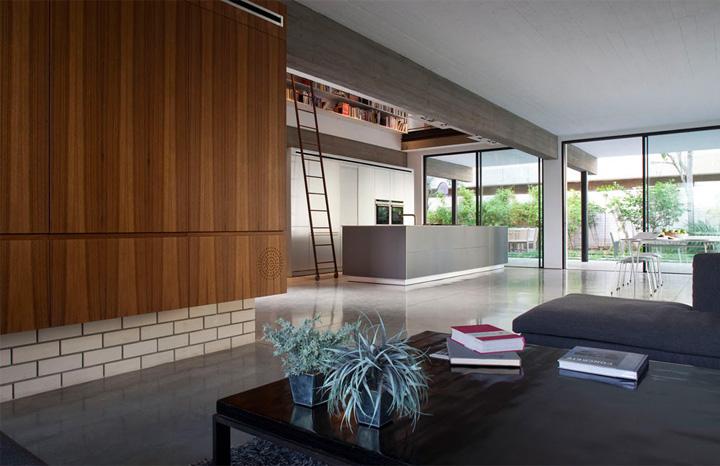 Rechter House – Thiết kế biệt thự hai tầng hiện đại ở Israel 6
