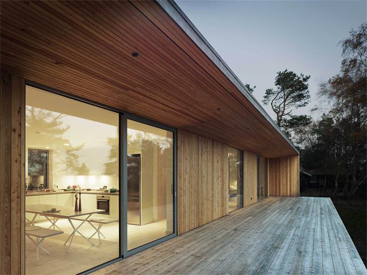 Sommarhus Akenine - Thiết kế nhà nghỉ dưỡng mùa hè trong rừng 7
